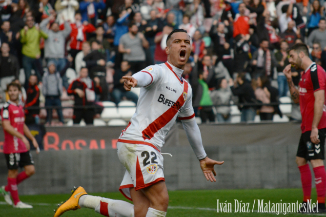 Un Rayo Vallecano enchufado
