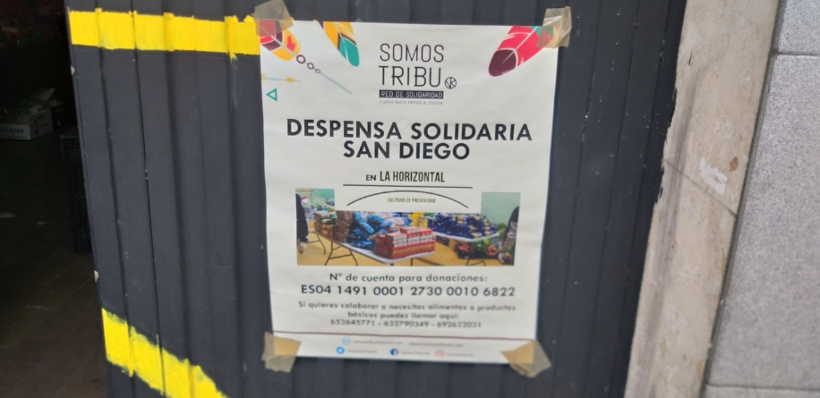 Las Despensas Solidarias de Vallecas